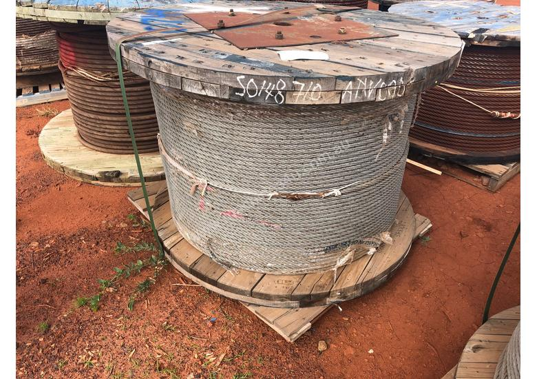 Galvanised Wire Rope 19mm, 6x36