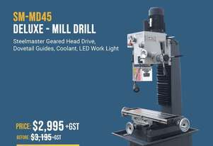 High Quality Geared Head Mill Drill with All The Features - 240Volt