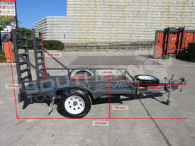 1.4 TON Plant Trailer suit Mini Bobcats skidsteer loaders ATTPT - picture2' - Click to enlarge