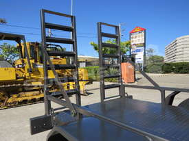 1.4 TON Plant Trailer suit Mini Bobcats skidsteer loaders ATTPT - picture15' - Click to enlarge
