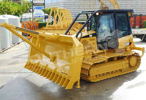 Caterpillar D5K WT Bulldozer w Stick Rake Tree Spear DOZCATK