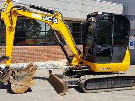 JCB 8045 5T EXCAVATOR WITH LOW 1650 HOURS, FULL A/C CAB, QUICK HITCH AND BUCKETS. READY TO GO! - picture0' - Click to enlarge