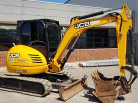 JCB 8045 5T EXCAVATOR WITH LOW 1650 HOURS, FULL A/C CAB, QUICK HITCH AND BUCKETS. READY TO GO! - picture1' - Click to enlarge