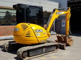 JCB 8045 5T EXCAVATOR WITH LOW 1650 HOURS, FULL A/C CAB, QUICK HITCH AND BUCKETS. READY TO GO! - picture2' - Click to enlarge