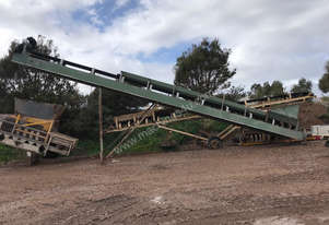 CONVEYOR 600MM X 12M (GREEN)