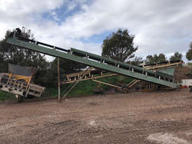 CONVEYOR 600MM X 12M (GREEN) - picture0' - Click to enlarge