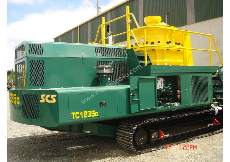SCS TC1235C Mobile Cone Crusher