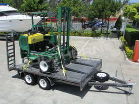 Plant Trailers 4.5 TON Moffett Forklifts Tailgater 4500kg Trailers ATTPT - picture0' - Click to enlarge