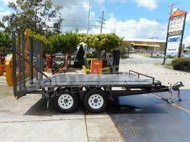 Plant Trailers 4.5 TON Moffett Forklifts Tailgater 4500kg Trailers ATTPT - picture3' - Click to enlarge