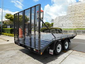 Plant Trailers 4.5 TON Moffett Forklifts Tailgater 4500kg Trailers ATTPT - picture7' - Click to enlarge