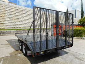Plant Trailers 4.5 TON Moffett Forklifts Tailgater 4500kg Trailers ATTPT - picture9' - Click to enlarge
