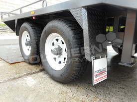 Plant Trailers 4.5 TON Moffett Forklifts Tailgater 4500kg Trailers ATTPT - picture16' - Click to enlarge