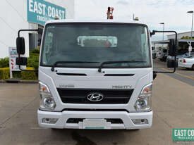 2018 Hyundai MIGHTY EX8 SUP CAB LWB Tray Crane Truck Tray Top Drop Sides - picture1' - Click to enlarge