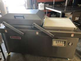 Vacuum sealer swing lid dual chamber - picture3' - Click to enlarge