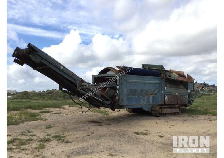 2002 Powerscreen 600 Trommel Screen
