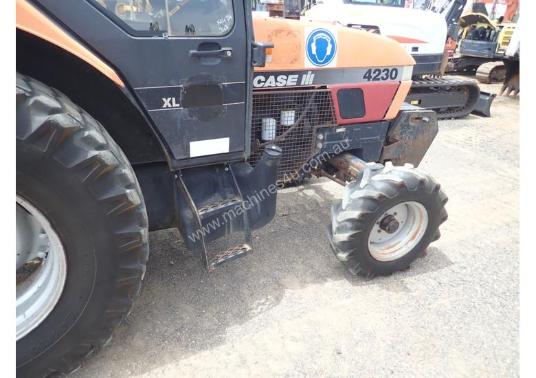 Case IH 4230 Tractor and Slasher