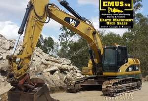 2008 CAT 324DL, 25ton, heaps of attachments. EMUS NQ