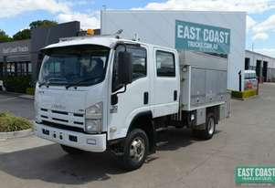 2009 ISUZU NPS300  4x4 Service Vehicle Dual Cab