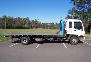 isuzu frr-550 tilt slide tray 1,160,000Kms , full cab respray