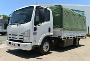 2011 ISUZU NPR 200 Tray Top Tray Top with Gates