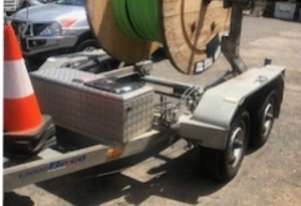 Belco Cable drum trailer
