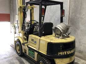 Mitsubishi 2.5t LPG forklift - picture2' - Click to enlarge