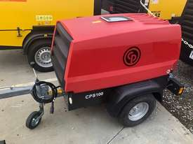 Brand New - Atlas Copco - CPS100 - 85cfm towable diesel air compressor  - picture0' - Click to enlarge