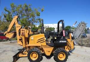 Astec/Toro RT600 Trencher Backhoe Dozer 65HP