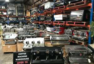 COFFEE MACHINE WAREHOUSE - NEW USED COFFEE MACHINES, GRINDERS ESPRESSO COFFEE