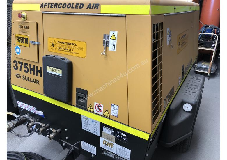 SULLAIR DIESEL COMPRESSOR 375HH