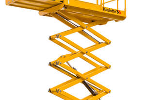 Hire Haulotte 32ft RT Self Levelling Diesel Scissor Lift