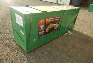 LOT # 0194 Single Trussed Container Shelter