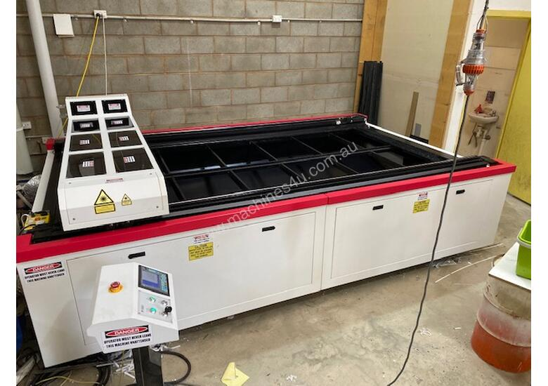 RARE OPPORTUNITY - Used 2016 Flat-Bed Laser Cutting Machine...