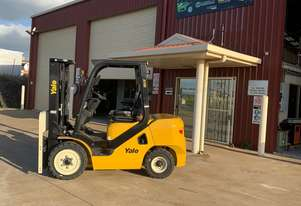 New Yale 3.5 tonne Diesel Container Mast Forklift