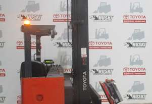 Toyota 6FBRE16 reach truck in good condition