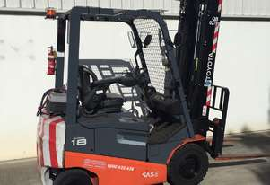 Toyota 1.8 Ton Electric Forklift in good condition