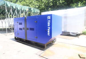 Tide Power 65kVA silenced generator set