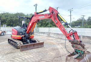 Used 2015 Kubota U55 For Sale.