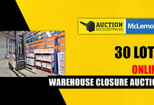 Warehouse Racking, Furniture & Forklift - Clearance Auction
