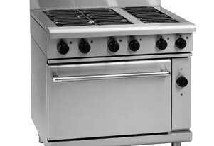 Waldorf 800 Series RNL8613EC - 900mm Electric Range Convection Oven Low Back Version