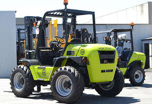 TH210 Rough Terrain Forklift Hire