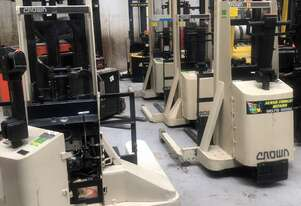 Crown Walkie Stackers From $2800.00
