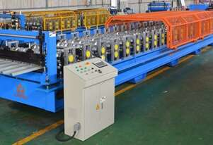 Corrugated roll forming line