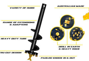 New Digga 225mm Standard Conditions A4 Auger