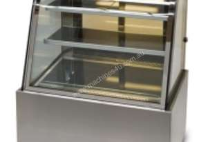 Anvil DHC0750 Showcase Curved Glass(395lt) Hot 150