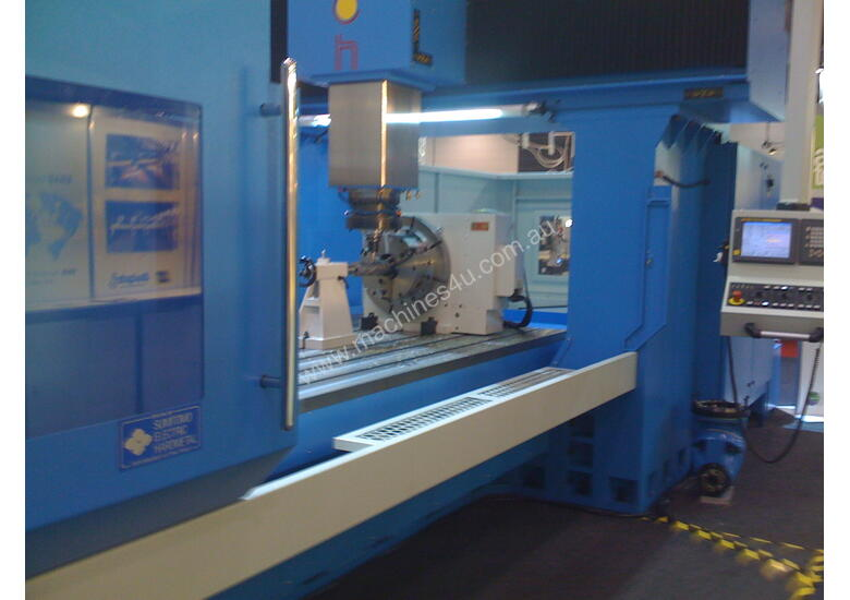 Eumach Ram Type Twin Column VMC Machining Centre