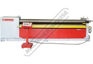 AR-3106 Motorised Plate Curving Rolls 3100 x 6mm Mild Steel Capacity Initial Pinch Design