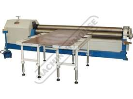 AR-3106 Motorised Plate Curving Rolls 3100 x 6mm Mild Steel Capacity Initial Pinch Design - picture15' - Click to enlarge
