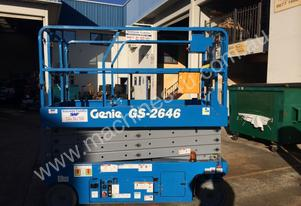 SWF Access Equipment Rentals Genie GS2646 Scissor lift