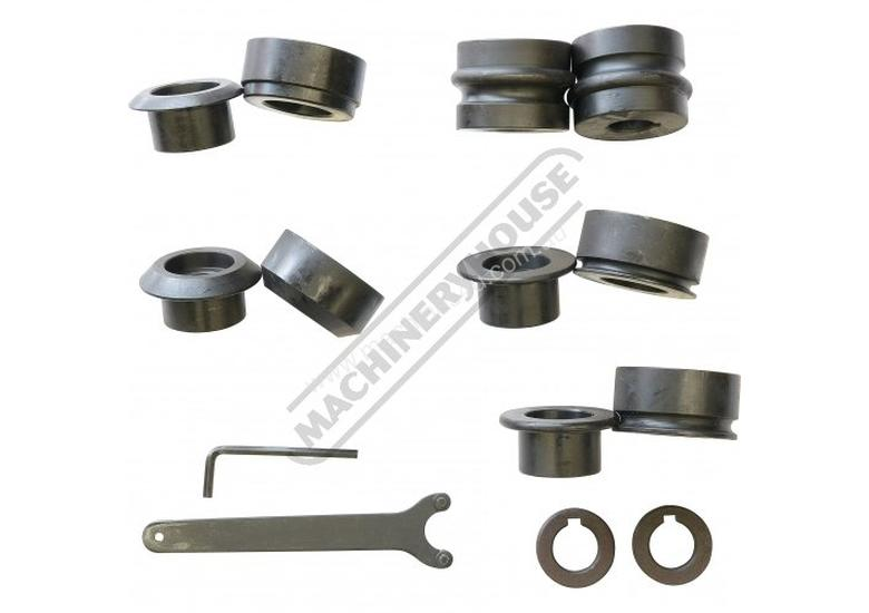 SJ-22 Swage and Jenny - Manual  0.7mm Mild Steel Thickness Capacity Includes 5 Sets Of Rolls